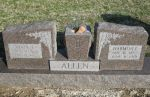 Gravestone: Harmon Allen & Ethel Addie Allen (Jones)