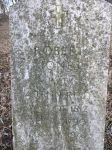 Gravestone: Robert B Jones