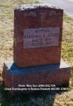 Gravestone: Barbara E Moore (Jones)