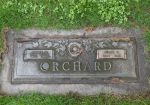 Gravestone: James Orchard and Josie D Orchard (Crabtree)