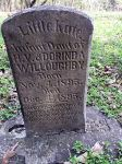 Gravestone: Kate Willoughby