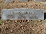 Gravestone: Henry Hubert Willoughby & Omar Willoughby (Williams)