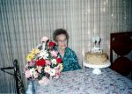 Addie May (Crabtree) Willoughby on her 95th Birthday