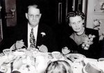 Elmer & Elsie Sigler at Ethel's Wedding